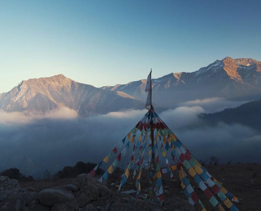 Balang Mountain em QING CHENG MOUNTAIN